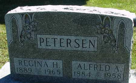 PETERSEN, ALFRED & REGINA - Ida County, Iowa   ALFRED & REGINA PETERSEN