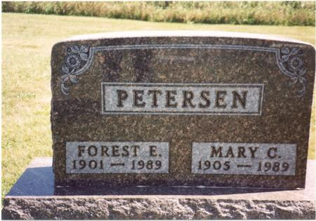 PETERSEN, FOREST  & MARY - Ida County, Iowa | FOREST  & MARY PETERSEN