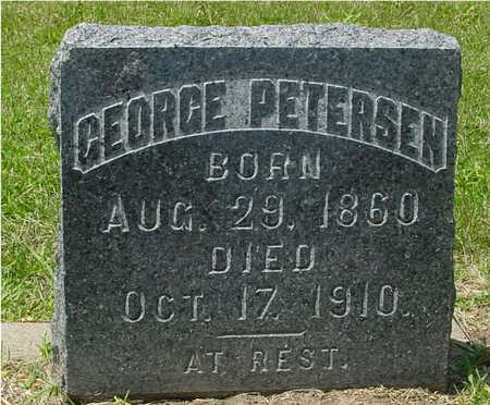 PETERSEN, GEORGE - Ida County, Iowa | GEORGE PETERSEN