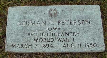 PETERSEN, HERMAN L. - Ida County, Iowa | HERMAN L. PETERSEN