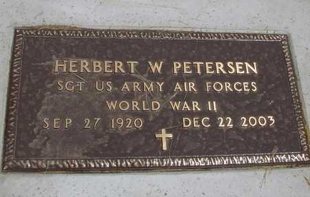 PETERSEN, HERBERT W. - Ida County, Iowa | HERBERT W. PETERSEN
