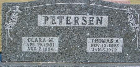 PETERSEN, THOMAS & CLARA M. - Ida County, Iowa | THOMAS & CLARA M. PETERSEN