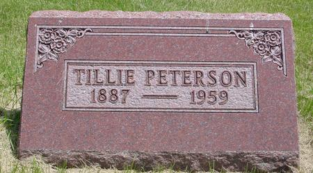 PETERSON, TILLIE - Ida County, Iowa | TILLIE PETERSON