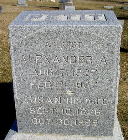 PETIT, ALEXANDER & SUSAN - Ida County, Iowa | ALEXANDER & SUSAN PETIT