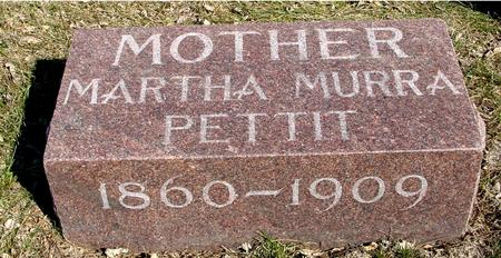 PETTIT, MARTHA MURRA - Ida County, Iowa | MARTHA MURRA PETTIT
