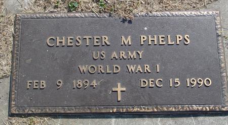 PHELPS, CHESTER - Ida County, Iowa   CHESTER PHELPS
