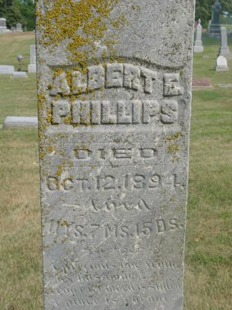 PHILLIPS, ALBERT E. - Ida County, Iowa | ALBERT E. PHILLIPS