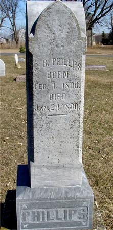 PHILLIPS, G. B. - Ida County, Iowa | G. B. PHILLIPS