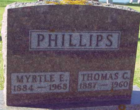 PHILLIPS, THOMAS & MYRTLE - Ida County, Iowa | THOMAS & MYRTLE PHILLIPS