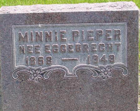 PIEPER, MINNIE - Ida County, Iowa | MINNIE PIEPER