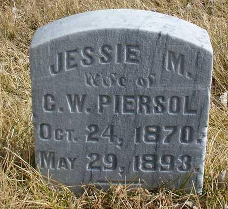 PIERSOL, JESSIE M. - Ida County, Iowa   JESSIE M. PIERSOL
