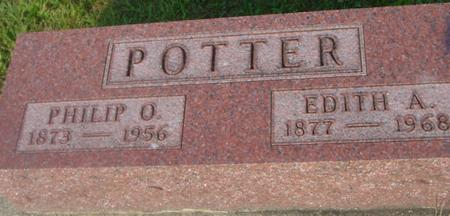 POTTER, PHILIP O. & EDITH A. - Ida County, Iowa | PHILIP O. & EDITH A. POTTER