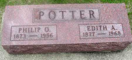 POTTER, PHILIP & EDITH - Ida County, Iowa | PHILIP & EDITH POTTER