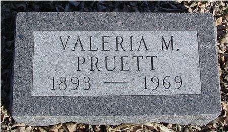PRUETT, VALERIA - Ida County, Iowa | VALERIA PRUETT