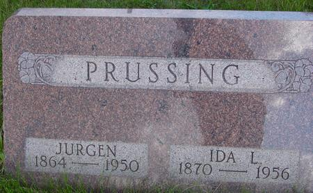 PRUSSING, JURGEN - Ida County, Iowa | JURGEN PRUSSING