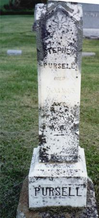 PURSELL, STEPHEN - Ida County, Iowa | STEPHEN PURSELL