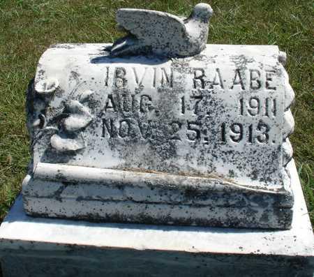 RAABE, IRVIN - Ida County, Iowa | IRVIN RAABE