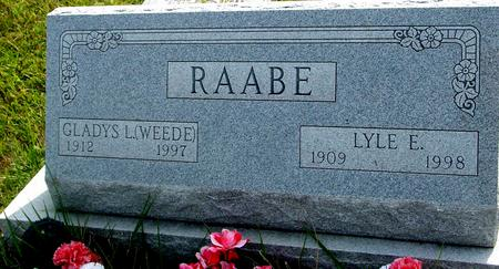 RAABE, LYLE E. & GLADYS L. - Ida County, Iowa | LYLE E. & GLADYS L. RAABE
