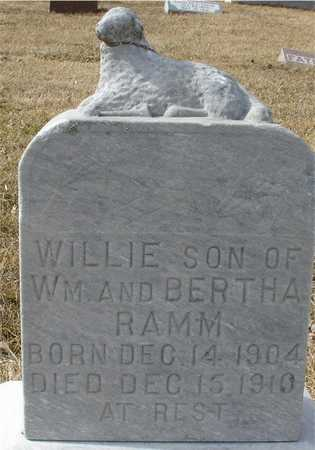 RAMM, WILLIE - Ida County, Iowa | WILLIE RAMM