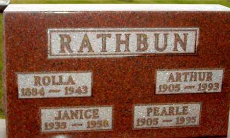 RATHBUN, ARTHUR & PEARL - Ida County, Iowa | ARTHUR & PEARL RATHBUN