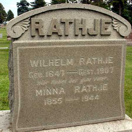 RATHJE, WILHELM & MINNA - Ida County, Iowa | WILHELM & MINNA RATHJE