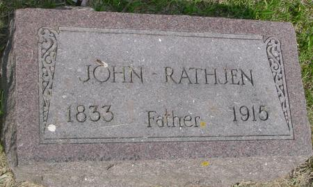 RATHJEN, JOHN - Ida County, Iowa | JOHN RATHJEN