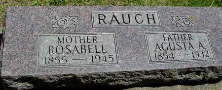 RAUCH, AGUSTA & ROSABELL - Ida County, Iowa | AGUSTA & ROSABELL RAUCH