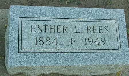 REES, ESTHER E. - Ida County, Iowa | ESTHER E. REES