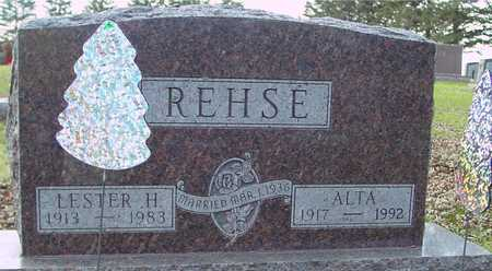 REHSE, LESTER & ALTA - Ida County, Iowa | LESTER & ALTA REHSE