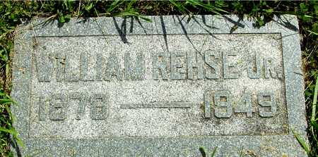 REHSE, WILLIAM JR. - Ida County, Iowa | WILLIAM JR. REHSE