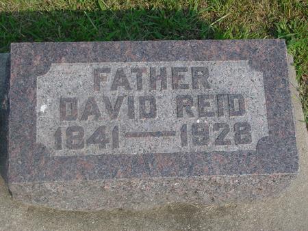 REID, DAVID - Ida County, Iowa | DAVID REID