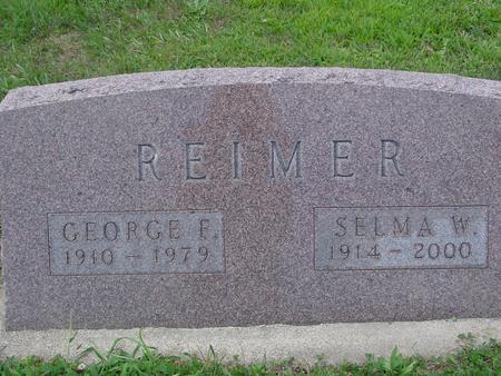 REIMER, GEORGE & SELMA - Ida County, Iowa | GEORGE & SELMA REIMER
