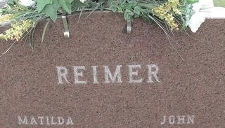 REIMER, MATILDA - Ida County, Iowa | MATILDA REIMER