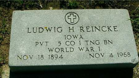 REINCKE, LUDWIG H. - Ida County, Iowa | LUDWIG H. REINCKE