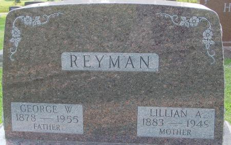 REYMAN, GEORGE W. - Ida County, Iowa | GEORGE W. REYMAN