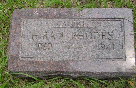 RHODES, HIRAM - Ida County, Iowa | HIRAM RHODES