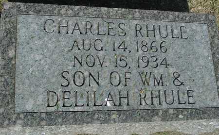 RHULE, CHARLES - Ida County, Iowa | CHARLES RHULE