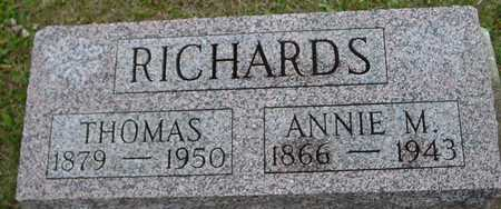 RICHARDS, THOMAS & ANNIE - Ida County, Iowa | THOMAS & ANNIE RICHARDS