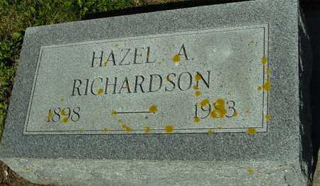 RICHARDSON, HAZEL A. - Ida County, Iowa | HAZEL A. RICHARDSON