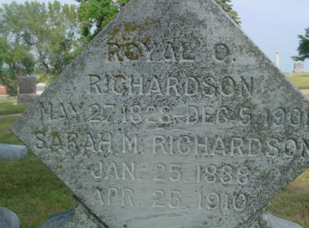 RICHARDSON, ROYAL & SARAH - Ida County, Iowa | ROYAL & SARAH RICHARDSON