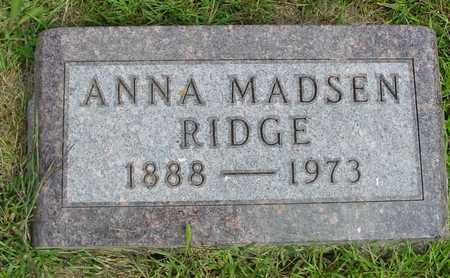 MADSEN RIDGE, ANNA - Ida County, Iowa | ANNA MADSEN RIDGE
