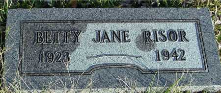 RISOR, BETTY JANE - Ida County, Iowa | BETTY JANE RISOR