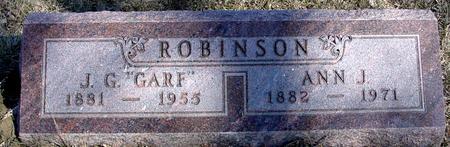 ROBINSON, J. G.