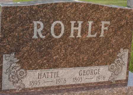 ROHLF, GEORGE & HATTIE - Ida County, Iowa | GEORGE & HATTIE ROHLF