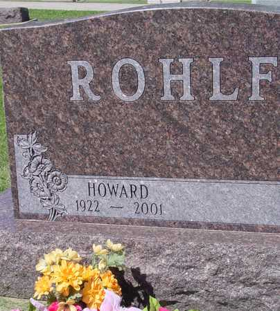 ROHLF, HOWARD - Ida County, Iowa | HOWARD ROHLF