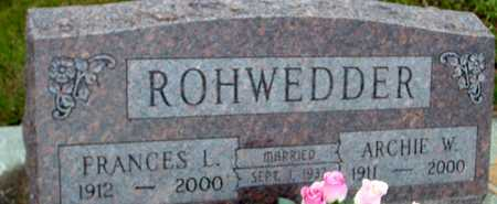 ROHWEDDER, ARCHIE & FRANCES L. - Ida County, Iowa | ARCHIE & FRANCES L. ROHWEDDER