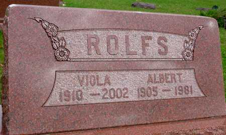 ROLFS, ALBERT & VIOLA - Ida County, Iowa | ALBERT & VIOLA ROLFS