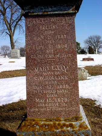 ROLLINS, MARY E. - Ida County, Iowa | MARY E. ROLLINS