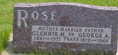 ROSE, GEORGE - Ida County, Iowa | GEORGE ROSE