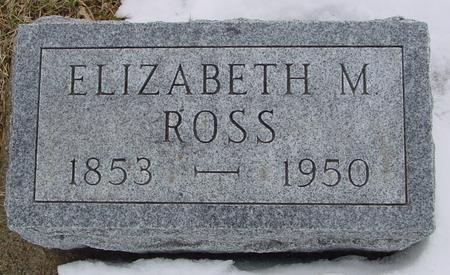 ROSS, ELIZABETH M. - Ida County, Iowa | ELIZABETH M. ROSS